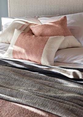 Grace Geometric Cushions_Burnt Sienna