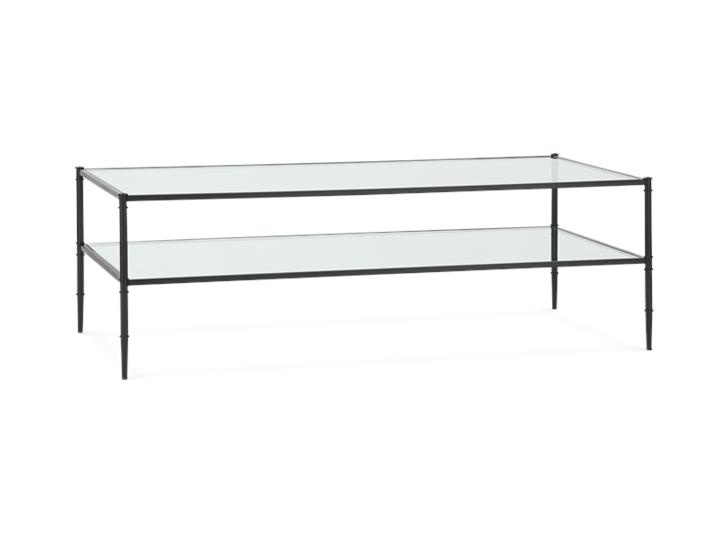 Coniston 140 Coffee Table Black Bronze_3Quarter