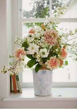 Dahlia & Apple Blossom Bouquet 02