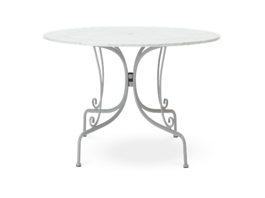 Boscombe 100 Table, Cobble _ Marble_front