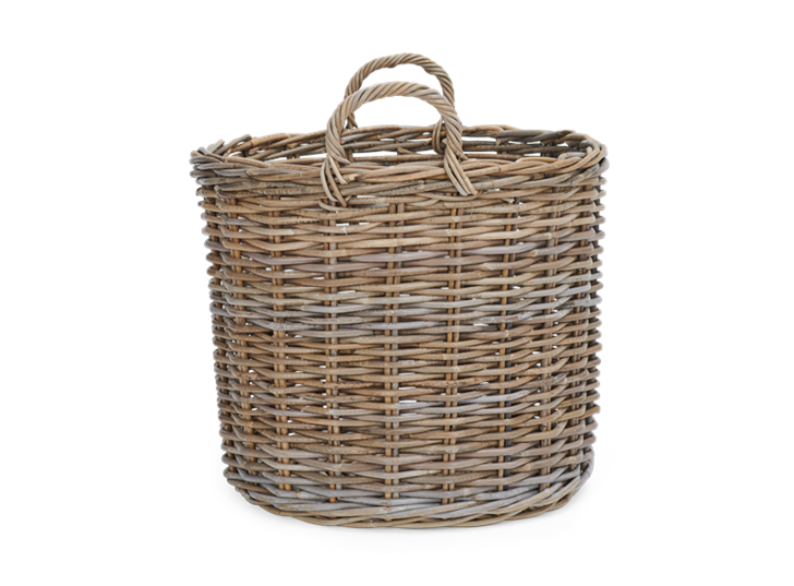 Somerton medium round Log Basket
