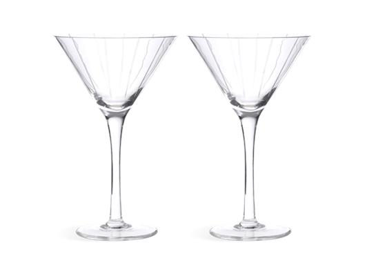 Mayfair Martini Glasses, Set of 2