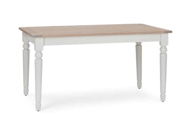 Suffolk 150 Rectangular Table_Silver Birch_3Quarter