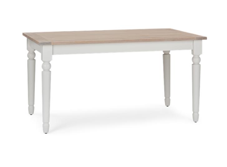 Suffolk 150 Rectangular Table_Silver Birch_3Quarter