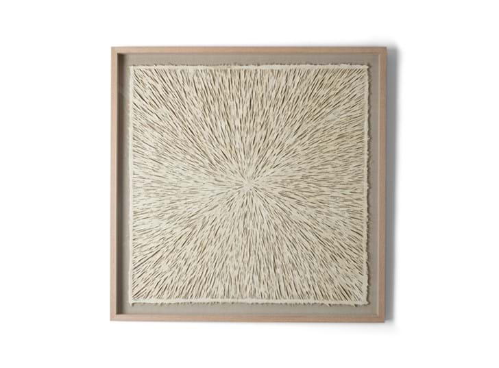 Overton paper art, square, front