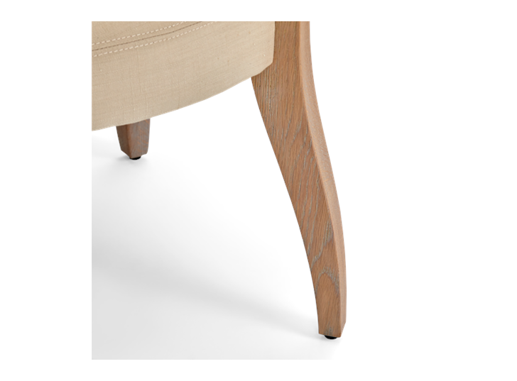 Mowbray Dining Chair_Clara Natural_Pale Oak_Detail 001