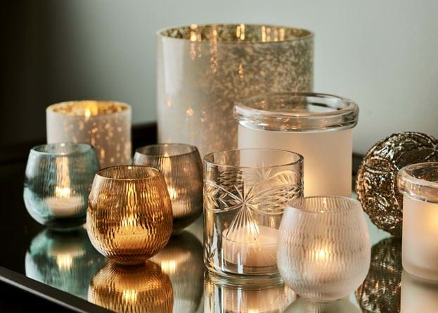 Neve Clear Tealight Holders