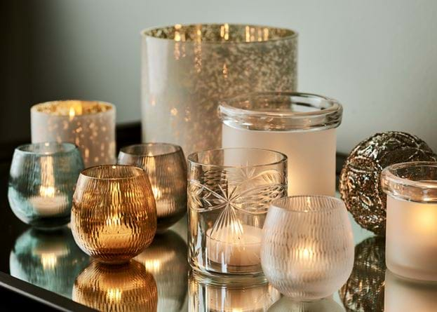 Christmas candles & tealights