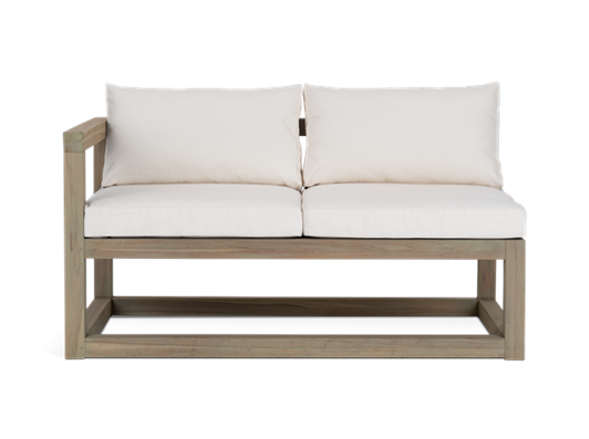 Pembrey NT Modular Left Arm Sofa- straight on