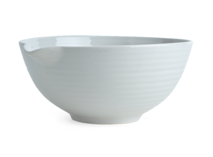 Lewes Pouring Bowl Grey_Front