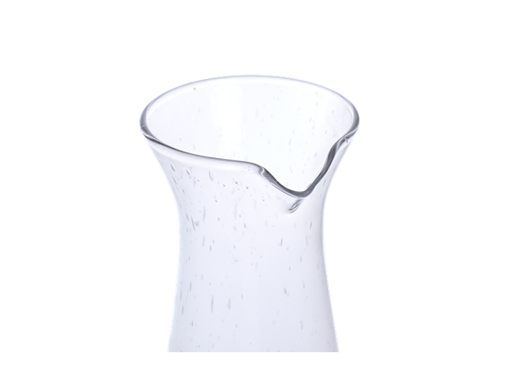 Ella Glass Jug - Clear 2