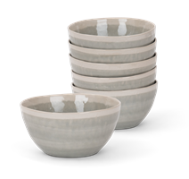 Lulworth Cereal Bowl, Grey, set of 6