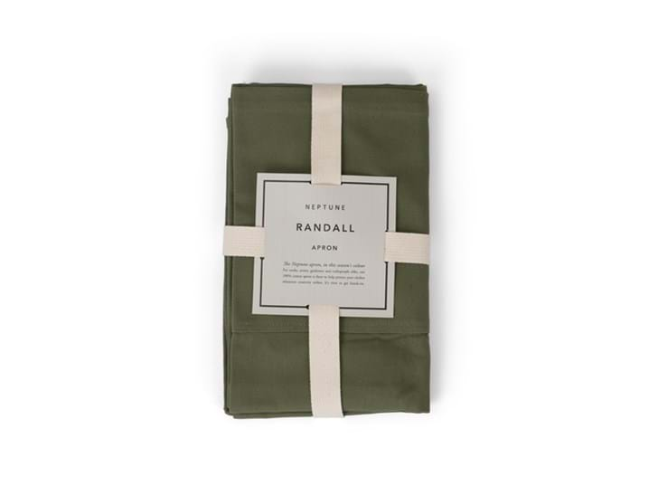 Randall Apron, Olive, packaged