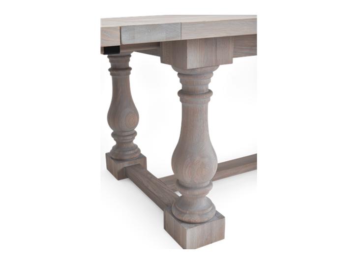 Balmoral 185-275 Extending Table_Seasoned Oak_Detail 1