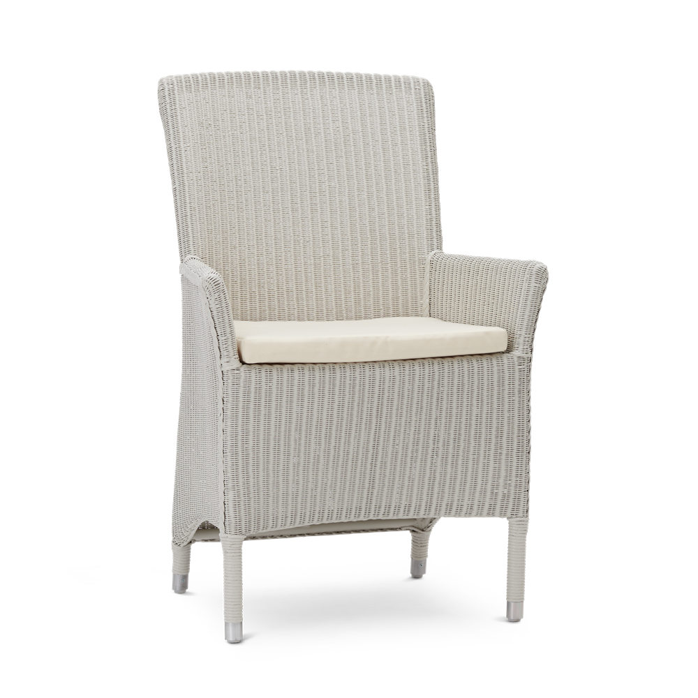 Chatto Carver Chair with Oatmeal Cushion_Garden Furniture