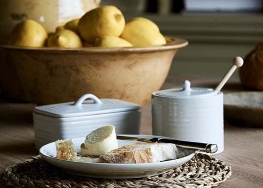 Lewes Butter Dish - Grey