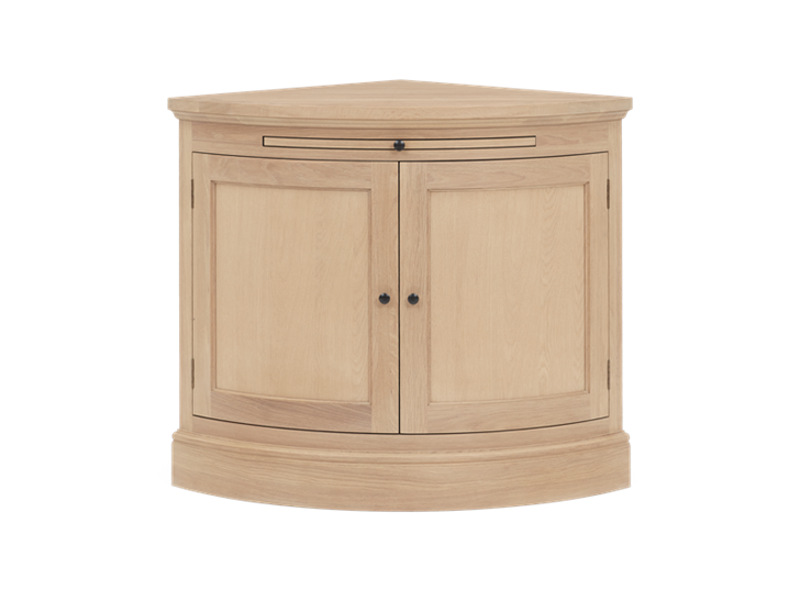Henley Curved Oak Sideboard Front