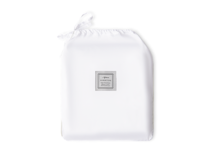 Albertine Fitted Sheet Lily Single_Front