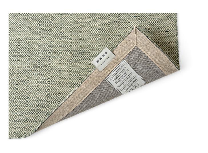 Naunton rug 70x240 teal_detail 2