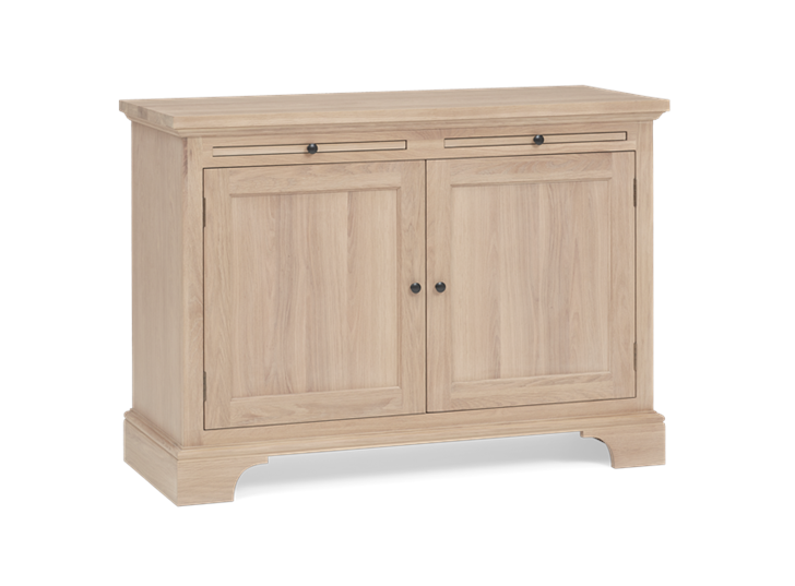 Henley 4ft Oak Sideboard 3Q