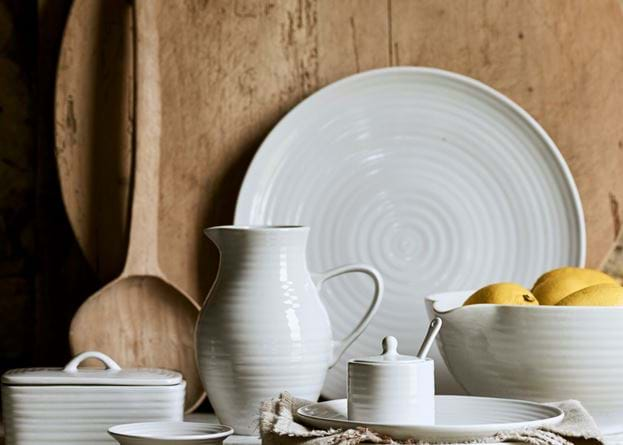 Lewes Serving Platter - Grey