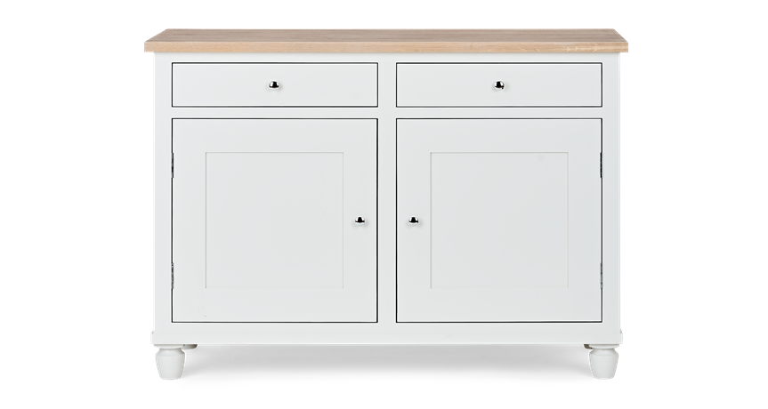 Suffolk 4ft Sideboard_Silver Birch_Front