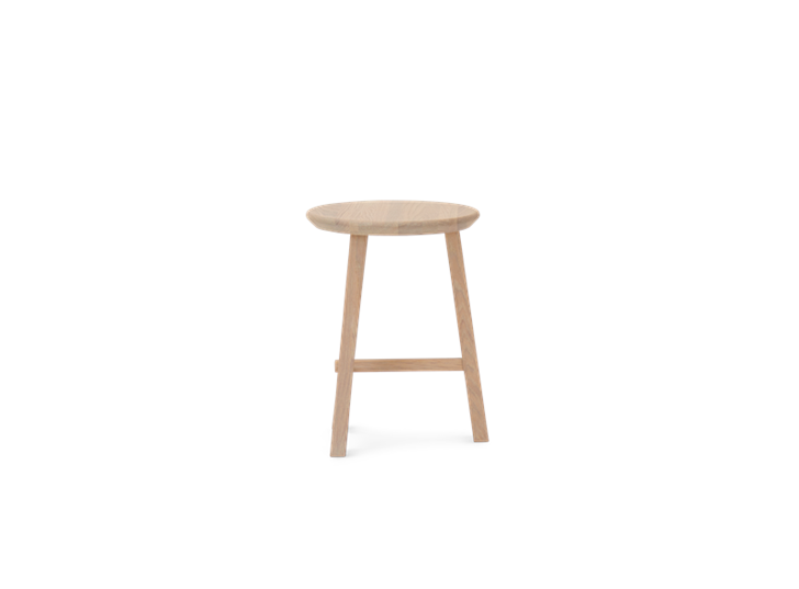 Northwich Stool Natural Oak_Side