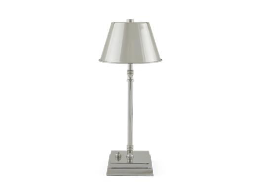 Hanover Cordless Lamp Small Nickel