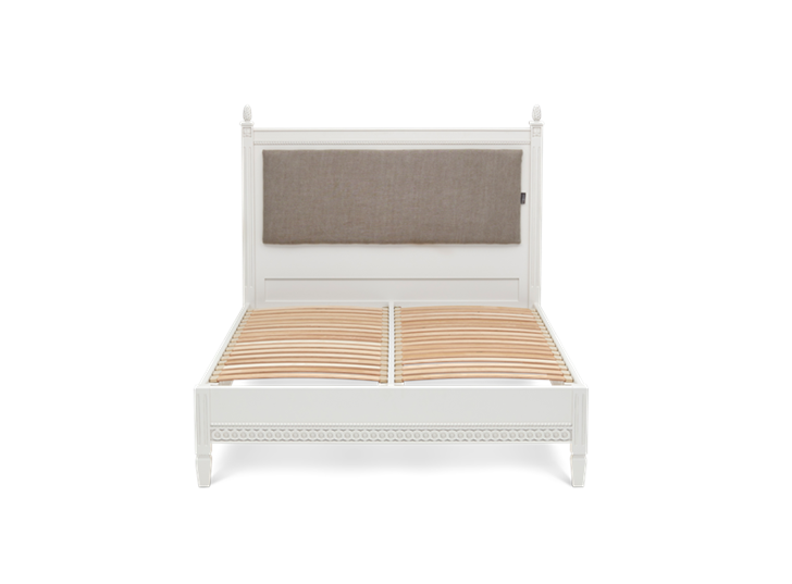 2497 Larsson Double Chloe Trellis Bed Base Only Front