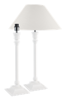 Fairfax Large Lamp, Painted