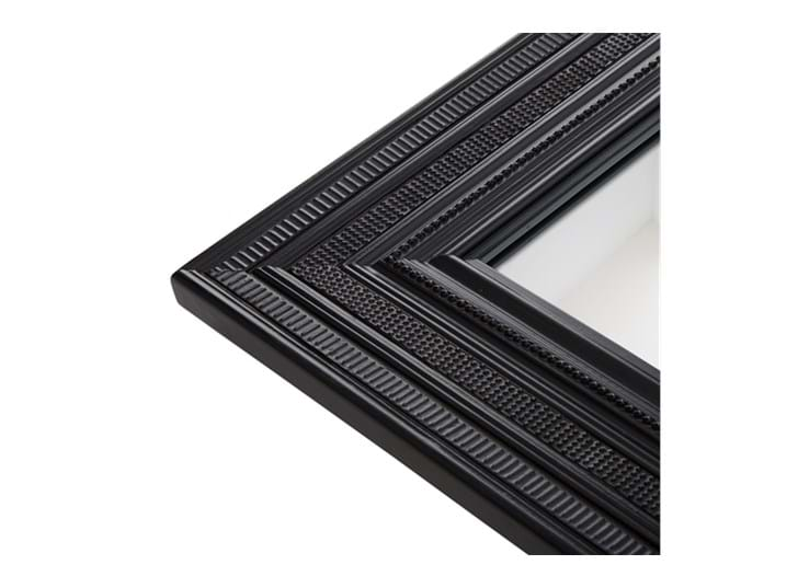 Kintbury 50 Square Mirror Black_Frame Detail PR