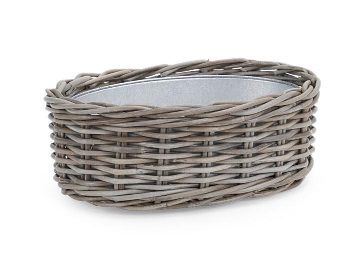 Littleton Oval Zinc Lined Basket