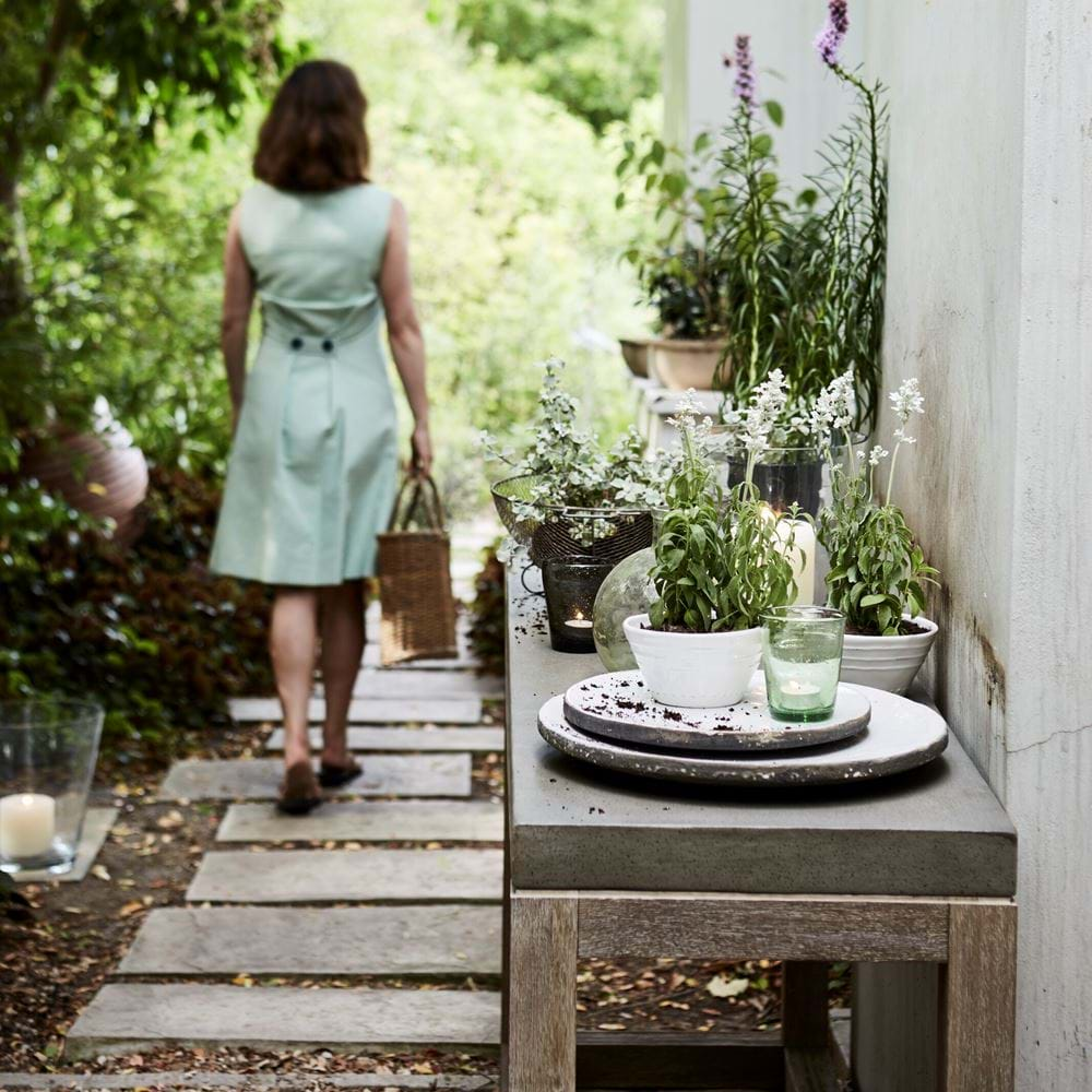 Hove Potting Console Table Garden