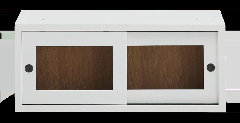 Chawton 38 Top Cabinet - Glazed - Snow