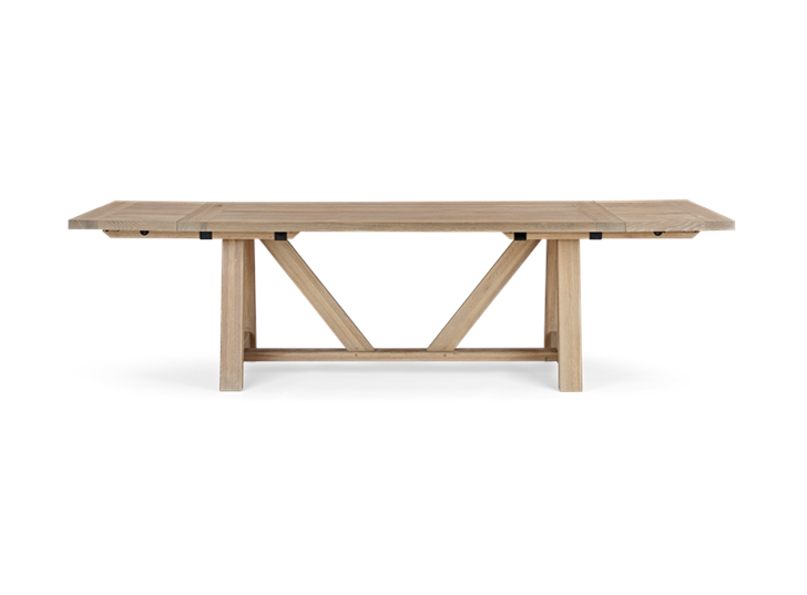 Arundel 184-274 Ext Table_Natural Oak_FrontExtended