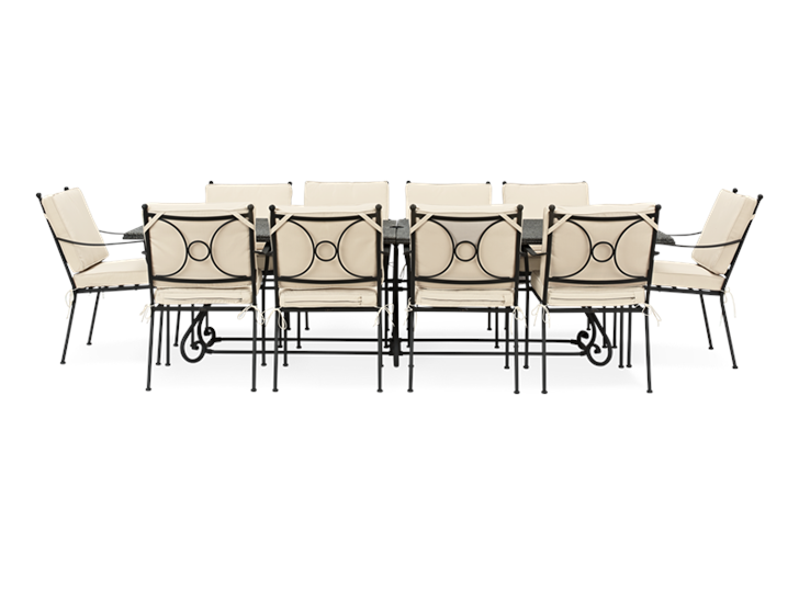Monaco 10- Seater Garden Set_Garden Furniture