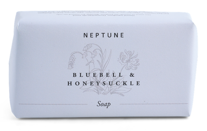 Bluebell and Honeysuckle Soap_Front