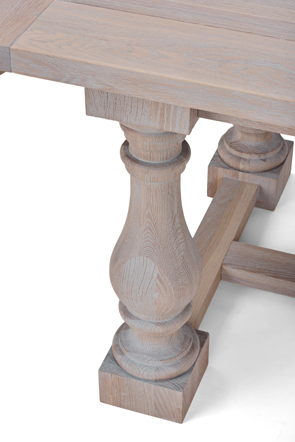 Balmoral 240 Rectangular Table_Seasoned Oak_Detail 4