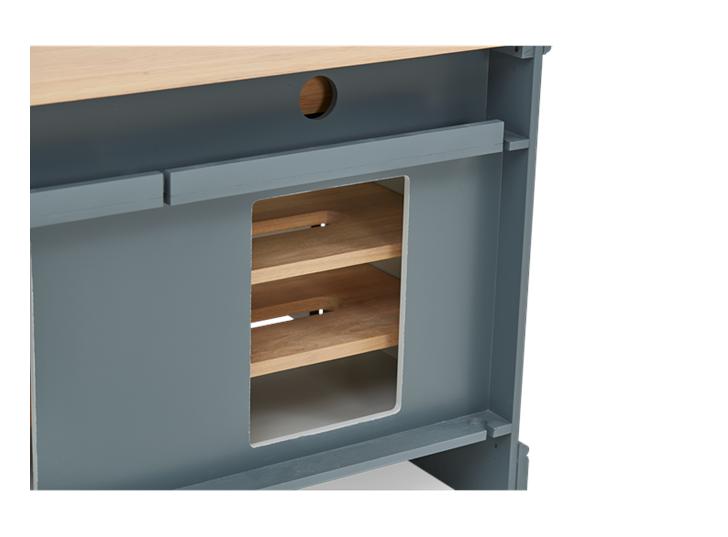 Henley 4ft AV Cabinet Base Detail 05