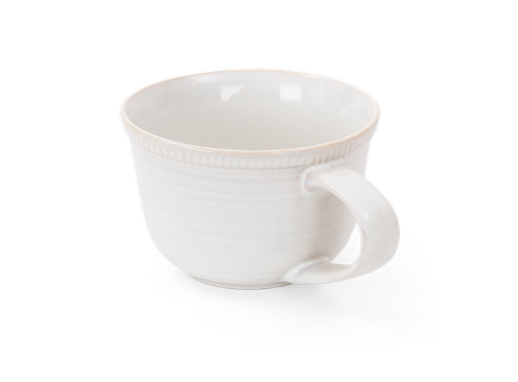 Sutton large mug, off white, rim copy
