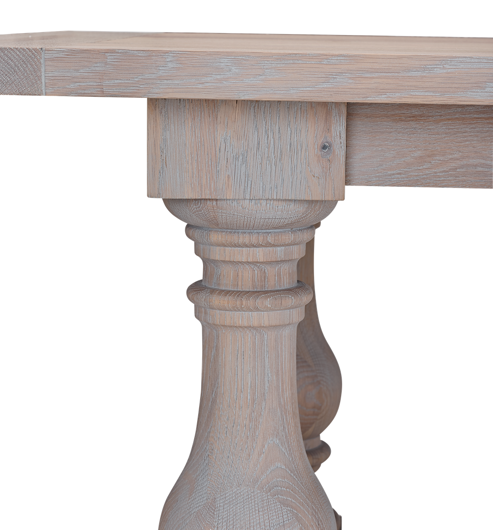 Balmoral 320 Rectangular Table_Seasoned Oak_Detail 1