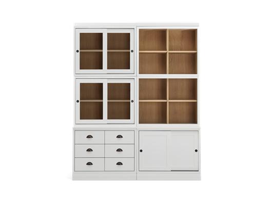Chawton Contemporary Double Dresser - Snow