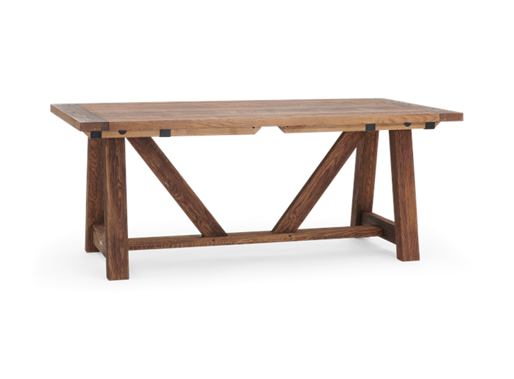 Arundel_Extending Table_Dark Oak_3Quarter_Not Extended