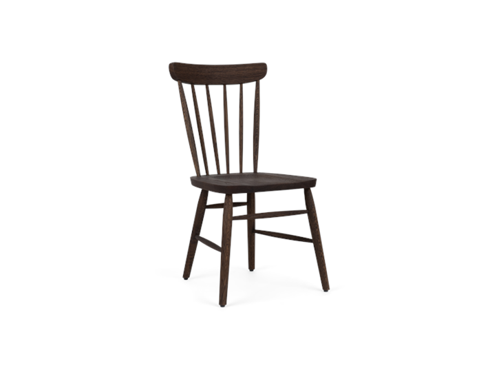 Wardley dining chair, darkened oak, 3quarter copy