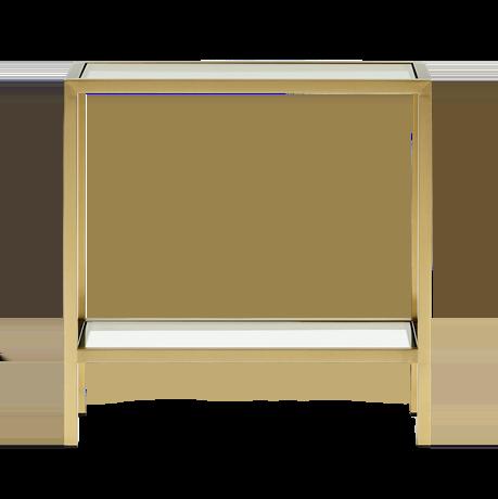 Keswick Rectangular Side Table_Front