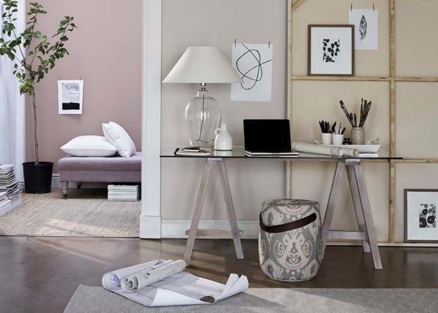Hebden Trestle Table 150 Home Office Desk