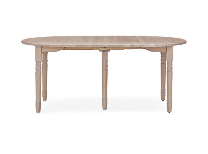 Sheldrake 110-270 Extending Table_Seasoned Oak_FrontExtended 2