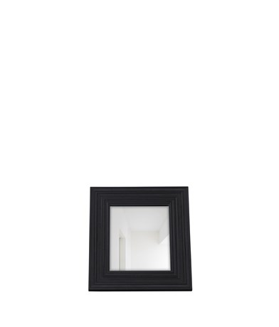 Kintbury 68 Rectangular Mirror Black_Front PR