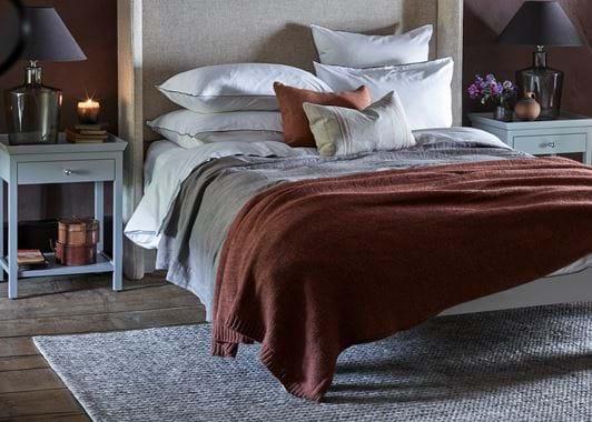 Elgin rug in bedroom