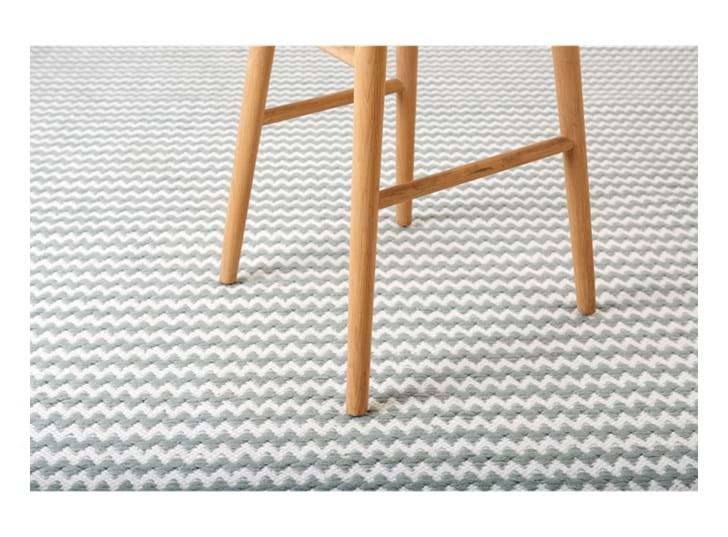 Chedworth rug 200x300 flax blue_detail 2